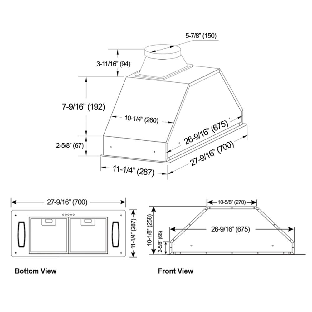 INX28 SQH-700-1 Series (Product Diagram)