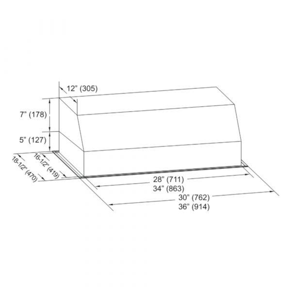 INX26 SQB-700-3 Series (Product Diagram)