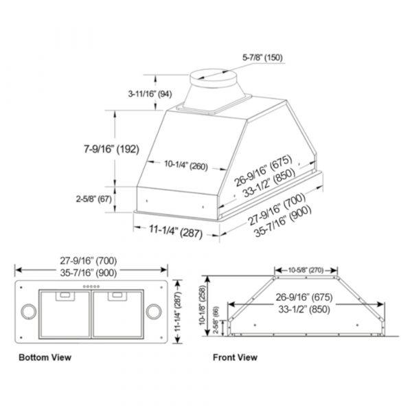 INX27 SQB-700-2 Series (Product Diagram)